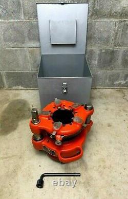 Ridgid 141 Pipe Threader 2-1/2-4 Threading Machine Ridgid 700 535 DEMO MODEL