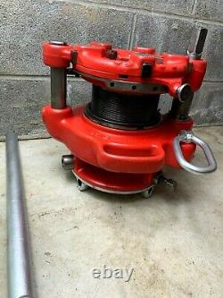 Ridgid 141 Pipe Threader 2-1/2-4 Threading Machine With D844 Drive Bar 300 535