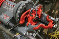 Ridgid 15682 1/8 2 300 Pipe Threader with Stand, Foot Pedal & 1 Die