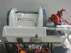 Ridgid 1822-I Auto Chuck Pipe Threader Threading Machine