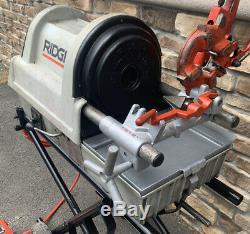 Ridgid 1822 Pipe Threading Threader Machine 1/2-2 rigid 700 300 1224 1822