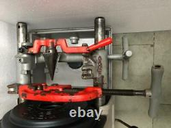 Ridgid 1822-i Pipe Thread Machine/pipe Threader 120v