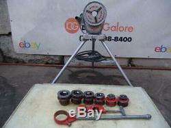 Ridgid 200 Pipe Threader Threading Machine with 12R die set 1/2 to 2 inch bg2