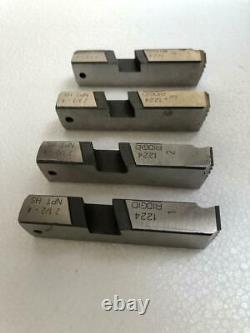 Ridgid 2-1/2-4 Npt High Speed Die/ Chaser Set For 1224 Pipe Thread Machine