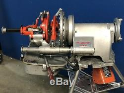 Ridgid 300A Self Oiling Pipe Threader Machine Complete Set Rigid 300 Threading