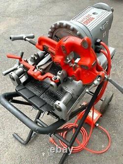 Ridgid 300 Compact Pipe Threader Threading Machine 1/2-2 With 250 Stand 1822 535