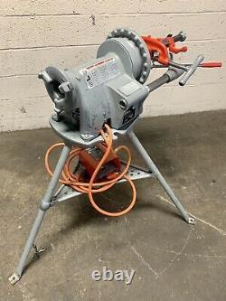Ridgid 300 Complete Setup 38 RPM Pipe Threading Machine Threader 811a 418 #3