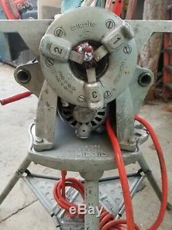 Ridgid 300 Pipe Threader Machine