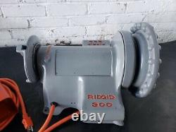 Ridgid 300 Pipe Threader Power Drive Withfoot Switch Refurbished! Threading Machin