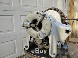 Ridgid 300 Pipe Threader Power electric Machine w Carriage, cutter, reamer stand