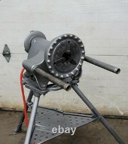 Ridgid 300 Pipe Threader Threading Machine Power Unit & 1206 Stand