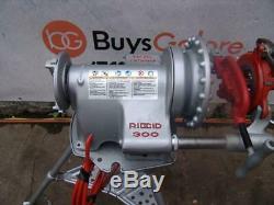 Ridgid 300 Pipe Threader Threading machine 1/2 2 inch With 2 dies