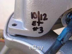 Ridgid 300 Pipe Threader Threading machine 1/2 2 inch With 2 dies Works Fine