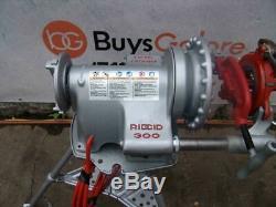 Ridgid 300 Pipe Threader Threading machine 1/2 2 inch With 2 dies bg2