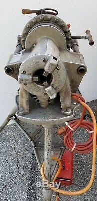 Ridgid 300 Pipe Threading Machine 1206 Tristand 311 Threader Cutter 360 341
