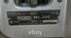Ridgid 300 Pipe Threading Machine, Pipe Threader. Nice (see Photos)