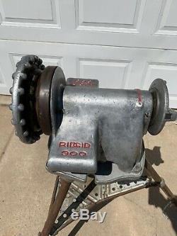 Ridgid 300 Pipe Threading Machine Powerhead And Stand Works