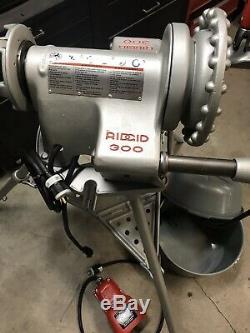 Ridgid 300 Pipe Threading Machine, threader, 700, 535, 1224, 1822, Rigid
