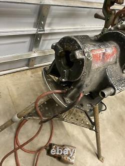 Ridgid 300 PowerHead Threader WithCarriage Cutter DieHead Reamer Tested ED4U 8184