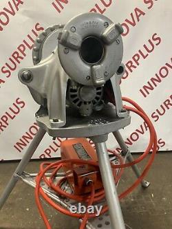 Ridgid 300 Power Drive Threading Machine 1/8 To 2 with 1206 Stand