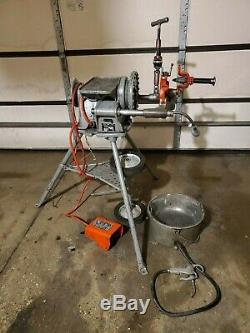 Ridgid 300 Power Machine with Carriage and Die Head Oiler