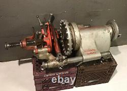 Ridgid 300 Power Pipe Threader with Complete Carriage Threading Machine Free Ship