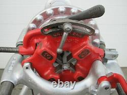Ridgid 300 Power Pipe Threader with Complete Carriage Threading Machine Used #1