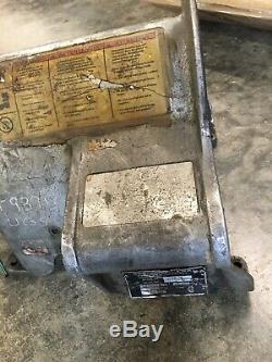 Ridgid 300-T2 Part, Aluminum Body Housing Frame Only, Pipe Threader Machine