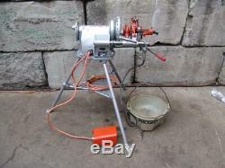 Ridgid 300 T2 Pipe Threader Threading Machine 1 Die And 418 Oiler
