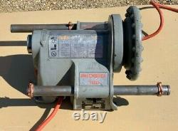 Ridgid 300 T2 Power Head Threader with Foot Pedal and 811A Die Head