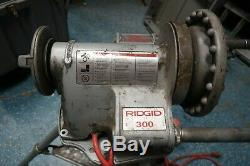 Ridgid 300 T2 Power Pipe Threader Threading Machine - Z7