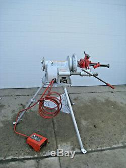Ridgid 300 T2 Power Pipe Threader Threading Machine with Complete Carriage Used