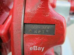 Ridgid 300 T2 Power Pipe Threader with Complete Carriage Threading Machine Used