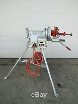 Ridgid 300 T2 Power Pipe Threader with Complete Carriage Threading Machine Used #2