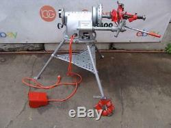 Ridgid 300 T-2 Pipe Threader Threading machine 1/2 2 inch With 2 dies 4/3 #3