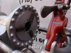 Ridgid 300 pipe threader threading machine 2 811 dies pipe cutter 535 1822 1224