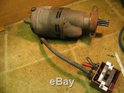 Ridgid 400 500 535 802 Pipe Threader Motor and Switch Threading Machine