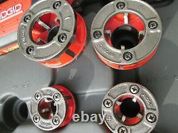 Ridgid 44918 600-I Hand-Held Pipe Threading Machine 1/2 To 1 1/4 Die Heads