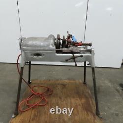 Ridgid 500 Pipe Threader Threading Machine WithLegs 115V 1ph