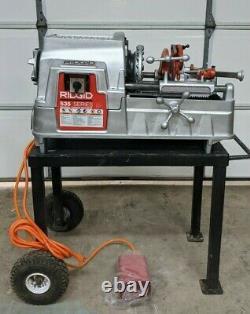 Ridgid 535 PipeThreading Machine 93287 GREAT CONDITION PIPE THREADER