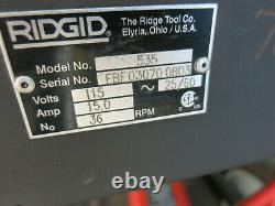 Ridgid 535 Pipe Threader