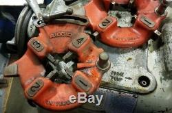 Ridgid 535 Pipe Threader (Inv. 39481)