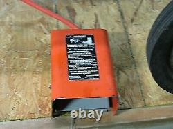 Ridgid 535 Pipe Threader Machine 115v 1ph With 3 Die Holders And Foot Pedal