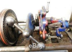 Ridgid 535 Pipe Threader Machine, 1/8 2 Pipe Threader, 2 Die Heads Included