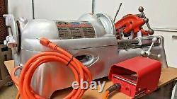 Ridgid 535 Pipe Threader, Threading Machine