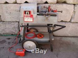Ridgid 535 Pipe Threader Threading Machine 1/2 To 2 Inch Works Fine #2