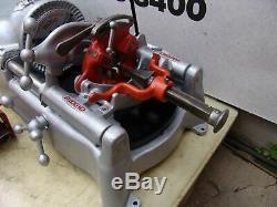 Ridgid 535 Pipe Threader Threading Machine 1/2 To 2 Inch Works Fine 9/4 #2