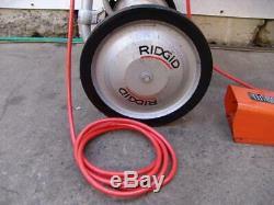 Ridgid 535 Pipe Threader Threading Machine 1/2 to 2 inch Cream Puff Works Great