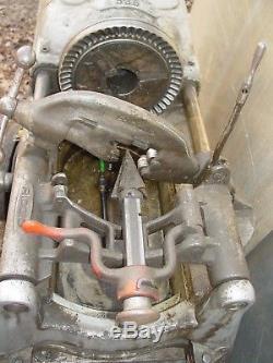 Ridgid 535 Pipe Threader Threading Machine 1/8 to 2
