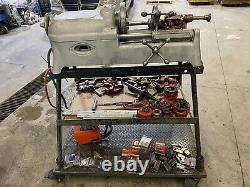 Ridgid 535 Pipe Threader Threading Machine 1/8 to 2 With Huge Lot Extras